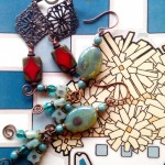 Basic Earrings workshops February 19 or April 25, 2015 at Dancing Beads in Medford, Oregon.