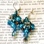 Medallion Earrings at Dancing Beads