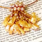 Pearl Slide Pendant at Dancing Beads
