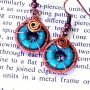 Spiral Wire Woven Earrings at Dancing Beads